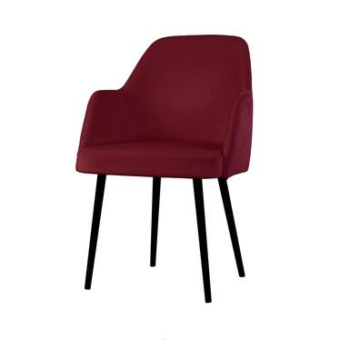 Krzesło Kebbi bordowe