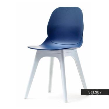 Krzesło Leaf dsx granatowe