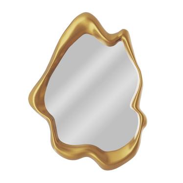 Lustro ścienne Splash 80x60 cm złota rama
