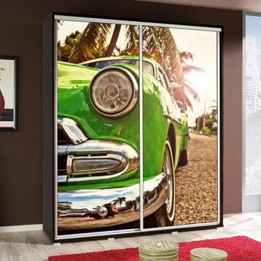 Szafa Wenecja 155 cm Zielone auto