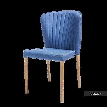 Krzesło Sletten granatowe