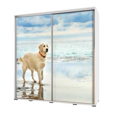 Szafa Wenecja 205 cm Labrador na plaży