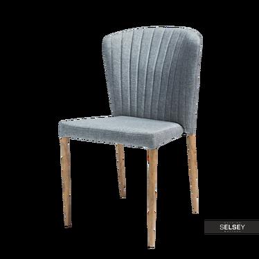 Krzesło Sletten szare