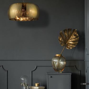 Lampa wisząca Alexis 50 cm złota
