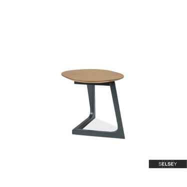 Stolik kawowy Kappeln 45x45 cm z fornirem dębowym