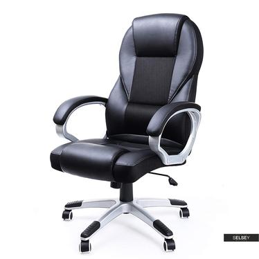Fotel biurowy Messer czarny