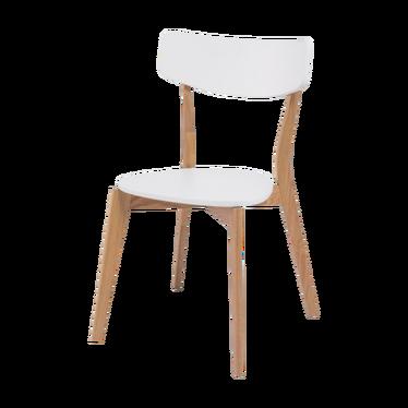 Krzesło Ikast białe