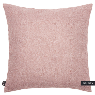 Poszewka na poduszkę Rino 45x45 cm jasnoróżowa