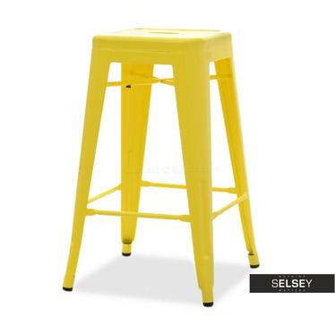 Hoker Alfredo stool 2 żółty
