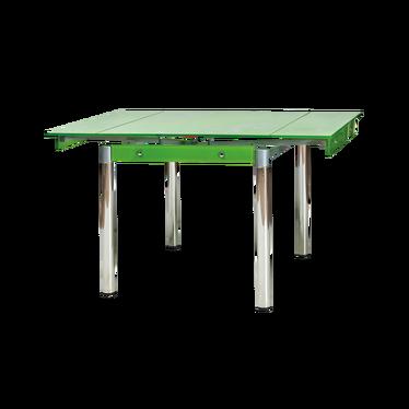 Stół rozkładany Grevinge 80(131)x80 cm zielony