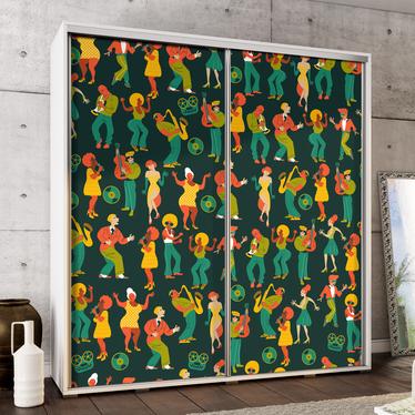 Szafa Wenecja 205 cm Retro impreza