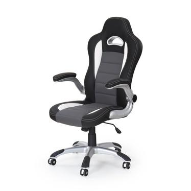 Fotel gamingowy Kabis czarno - szary