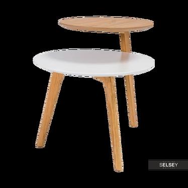 Stolik kawowy Upper średnica 40 cm, 50 cm