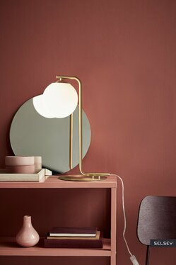 Lampa stołowa Grant złoty