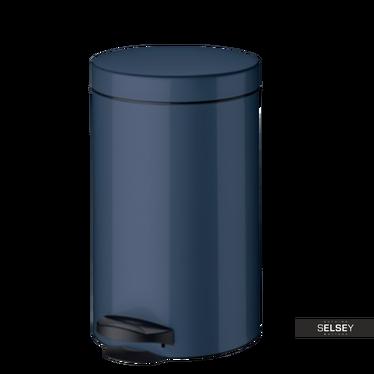 Kosz na śmieci New Line 14l granatowy