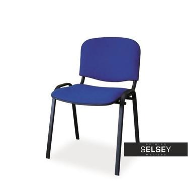 Krzesło Edesa niebieskie
