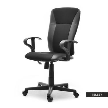 Fotel biurowy Sunds obrotowy z regulacją wysokości i funkcją bujania