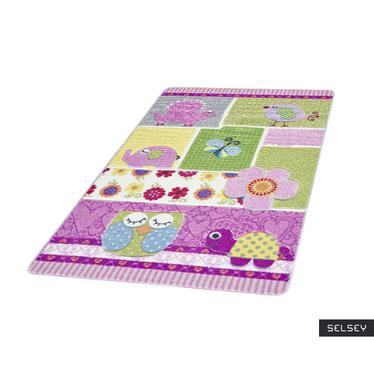 Dywan Wielokolorwy patchwork 133x190 cm