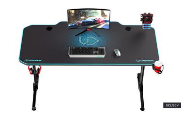 Biurko gamingowe Gamora niebieskie
