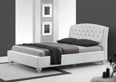 Łóżko tapicerowane Glam