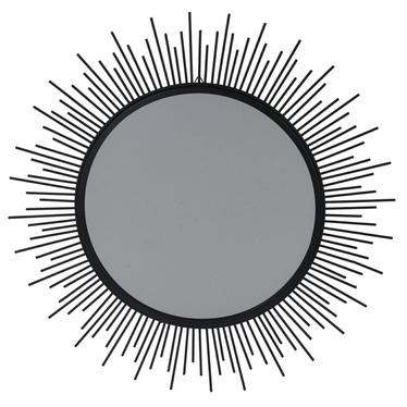 Lustro Shine czarne o średnicy 40 cm