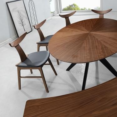Stół okrągły Odilio 180x110 cm