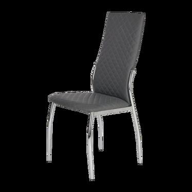 Krzesło Soria szare pikowane