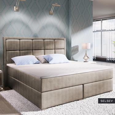 Łóżko kontynentalne Praline