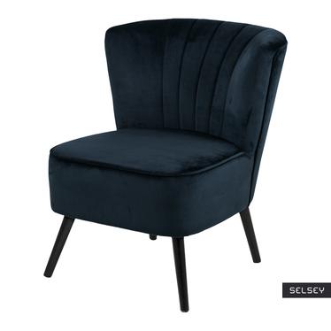 Fotel Bojana Prussian Blue