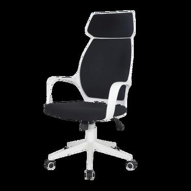 Fotel biurowy Morella czarno - biały