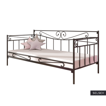 Łóżko metalowe Anja