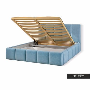 Łóżko Heavenly (wybór rozmiaru, opcjonalnie materac i pojemnik)