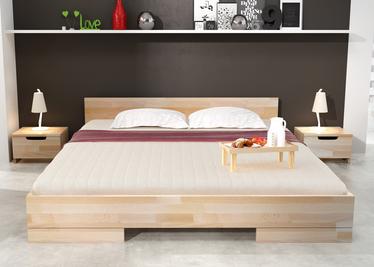 Łóżko Noava z drewna bukowego niskie