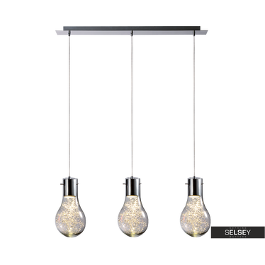 Lampa wisząca Bombilla x3