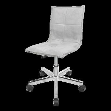 Fotel biurowy Isabela szary