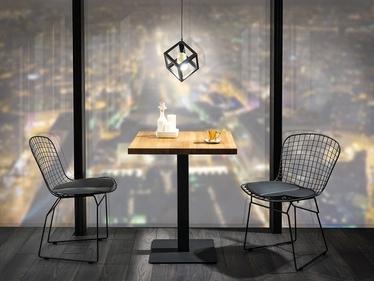 Stół Divock 70x70 cm z fornirem dębowym