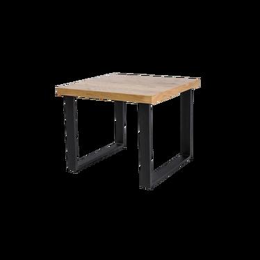 Stolik kawowy Eco 60x60 cm z litego drewna dębowego