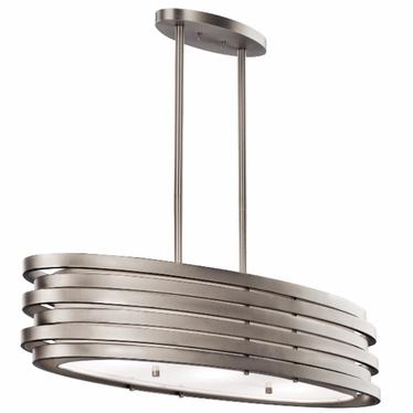 Lampa wisząca Roswell elipsa