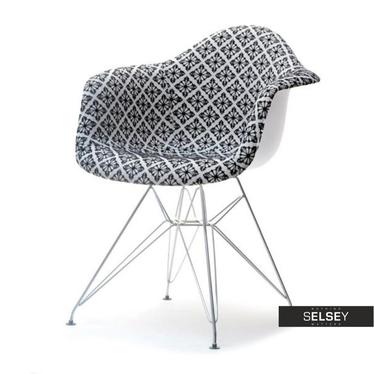 Krzesło MPA rod tap folk do salonu w stylu boho