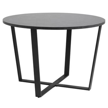Stół Adhafera czarny średnica 110 cm