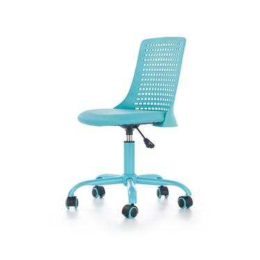 Fotel biurowy Gedici niebieski