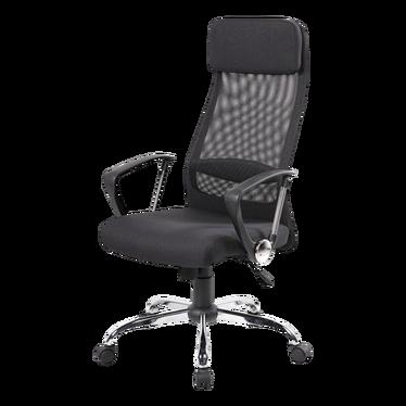 Fotel biurowy Della czarny