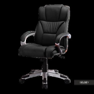 Fotel biurowy Sagrada czarny
