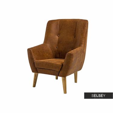 Fotel Cello jasnobrązowy