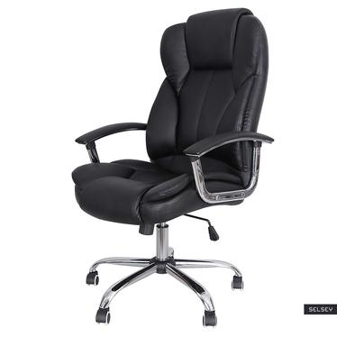Fotel biurowy Mogg czarny