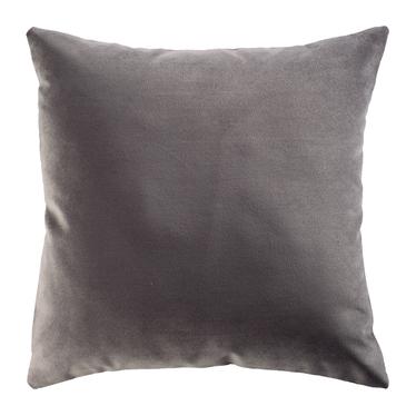 Poduszka dekoracyjna Myrrhis w tkaninie PET FRIENDLY 45x45 cm ciemnoszara
