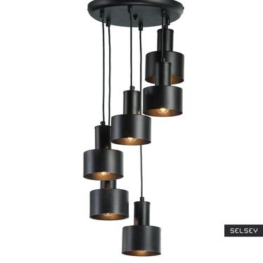 Lampa wisząca Turbina x6 kaskada