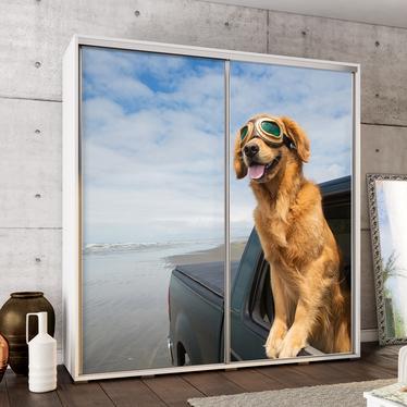 Szafa Wenecja 205 cm Labrador w samochodzie