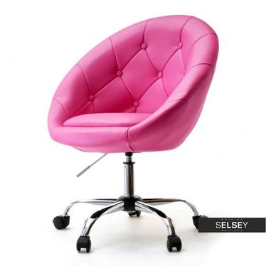 Fotel biurowy Lounge 4 róż