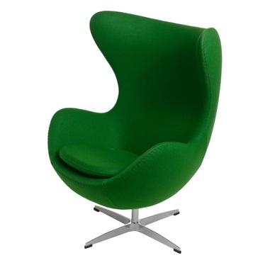 Fotel Jajo zielony